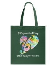 Fill My Heart With Song D0818 Tote Bag thumbnail