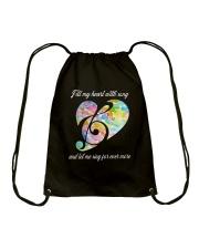 Fill My Heart With Song D0818 Drawstring Bag thumbnail