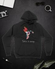 Take It Easy A0181 Hooded Sweatshirt lifestyle-unisex-hoodie-front-9