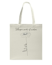 Whisper Words Of Wisdom Let It Be A0010 Tote Bag thumbnail