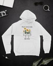 Whisper Words Of Wisdom D0814 Hooded Sweatshirt lifestyle-unisex-hoodie-front-9
