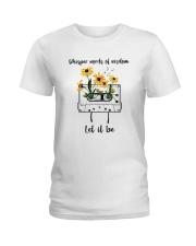 Whisper Words Of Wisdom D0814 Ladies T-Shirt thumbnail