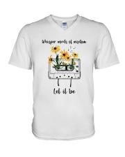 Whisper Words Of Wisdom D0814 V-Neck T-Shirt thumbnail