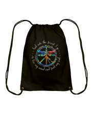 And Into The Forest I Go D0706 Drawstring Bag thumbnail