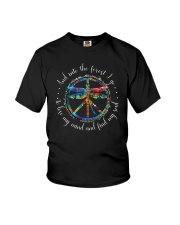 And Into The Forest I Go D0706 Youth T-Shirt thumbnail