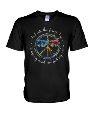 And Into The Forest I Go D0706 V-Neck T-Shirt thumbnail