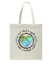 And I Think To Myself D01323 Tote Bag thumbnail