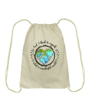 And I Think To Myself D01323 Drawstring Bag tile