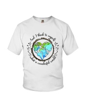 And I Think To Myself D01323 Youth T-Shirt thumbnail