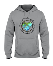And I Think To Myself D01323 Hooded Sweatshirt front