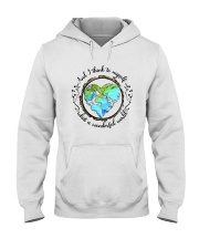 And I Think To Myself D01323 Hooded Sweatshirt tile