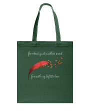 Freedom's Just Another Word D0766 Tote Bag thumbnail