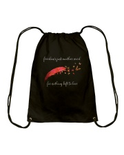 Freedom's Just Another Word D0766 Drawstring Bag thumbnail