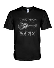 Fly Me To The Moon D0893 V-Neck T-Shirt thumbnail