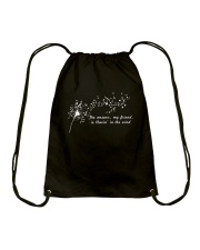 Blowin In The Wind A0046 Drawstring Bag thumbnail