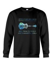And I Think To Myself D01182 Crewneck Sweatshirt thumbnail