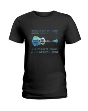 And I Think To Myself D01182 Ladies T-Shirt thumbnail