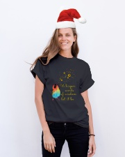 Whisper Words Of Wisdom Classic T-Shirt lifestyle-holiday-crewneck-front-1