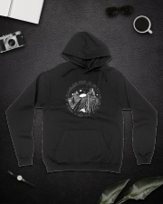 On A Dark Desert Highway A1093 Hooded Sweatshirt lifestyle-unisex-hoodie-front-9