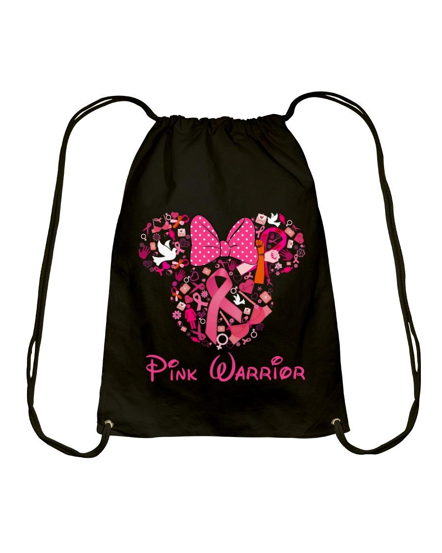 PINK WARRIOR Drawstring Bag