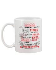 You Are Super Mom - White Mug Mug back