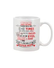You Are Super Mom - White Mug Mug front