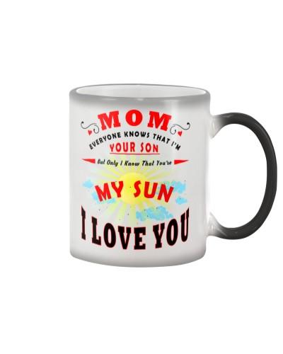 My Wonderful Mom - Color Changing Mug