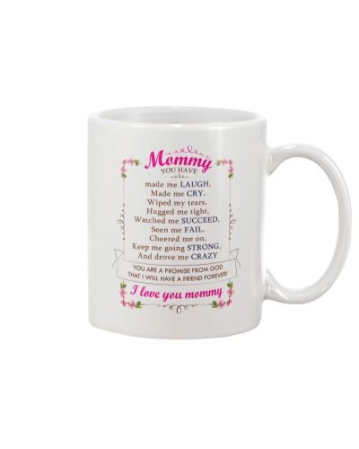 Mommy My Friend - White Mug