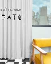 123321123 Window Curtain - Blackout aos-window-curtains-blackout-50x84-lifestyle-front-03