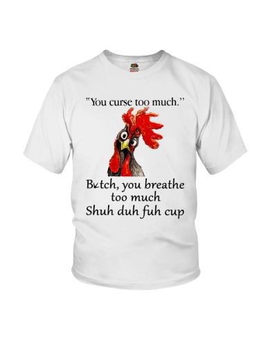 You Curse Too Much Farmer Shirt f-190209