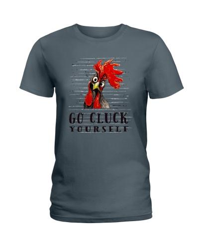 Go Cluck Yourself Farmer Shirt f-140202