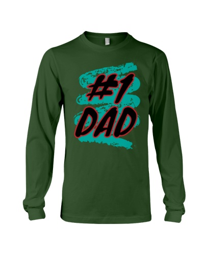 Number one dad shirt for father's day
