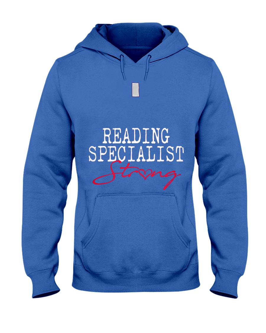 Reading Specialist Strong Sch Hooded Sweatshirt
