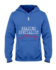 Reading Specialist Strong Sch Hooded Sweatshirt front