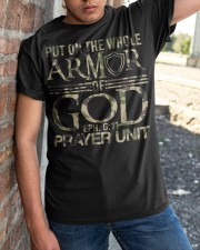 Army put on the whole armor of God EPH 611  Classic T-Shirt apparel-classic-tshirt-lifestyle-27