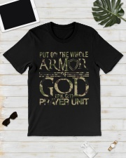 Army put on the whole armor of God EPH 611  Classic T-Shirt lifestyle-mens-crewneck-front-17