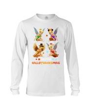 Tinkerbell Happy Hallothanksmas shirt Long Sleeve Tee thumbnail