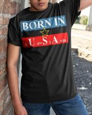Born in USA yugoslavia t shirt Classic T-Shirt apparel-classic-tshirt-lifestyle-27