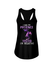 Dragon I had my patience tested Im negative shirt Ladies Flowy Tank thumbnail