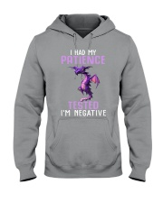 Dragon I had my patience tested Im negative shirt Hooded Sweatshirt thumbnail