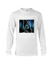 Crow A walk in the woods dragging a body shirt Long Sleeve Tee thumbnail