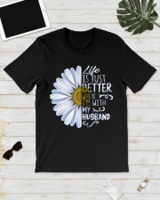 Daisy life is just better when Im  Classic T-Shirt lifestyle-mens-crewneck-front-17
