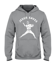 Baseball Jesus saves shirt Hooded Sweatshirt thumbnail