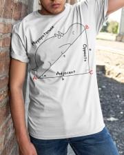 Hippopotenuse Opposite Adjacent Math T shirt Classic T-Shirt apparel-classic-tshirt-lifestyle-27