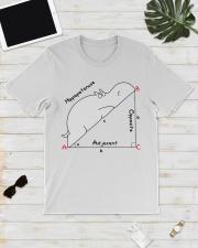 Hippopotenuse Opposite Adjacent Math T shirt Classic T-Shirt lifestyle-mens-crewneck-front-17