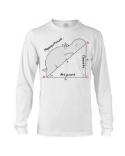 Hippopotenuse Opposite Adjacent Math T shirt Long Sleeve Tee thumbnail