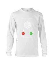 D20 Sorry I missed your call I was on a side Long Sleeve Tee thumbnail