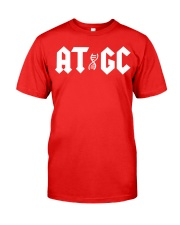 ATGC DNA shirt Classic T-Shirt tile