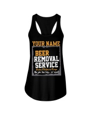 Beer Removal Service Personalized Custom Name  Ladies Flowy Tank thumbnail
