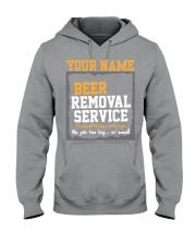 Beer Removal Service Personalized Custom Name  Hooded Sweatshirt thumbnail